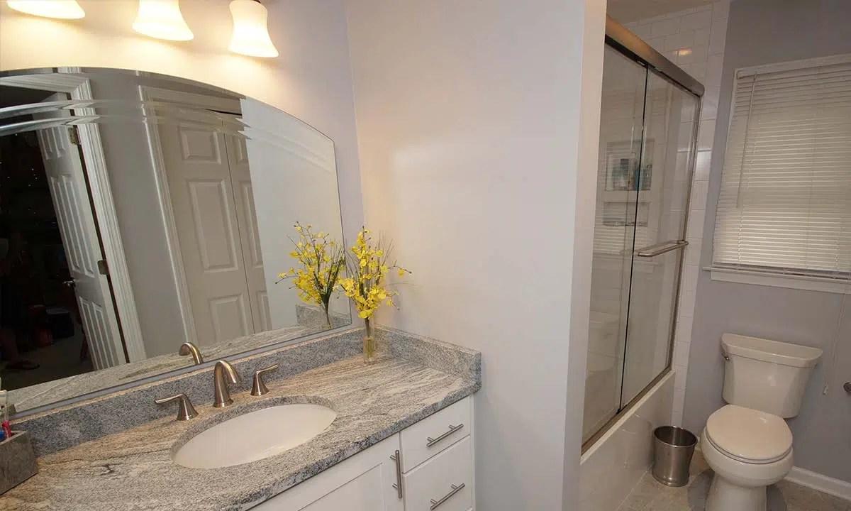 Bathroom Remodel Basic to Beautiful  Charlotte Bathroom