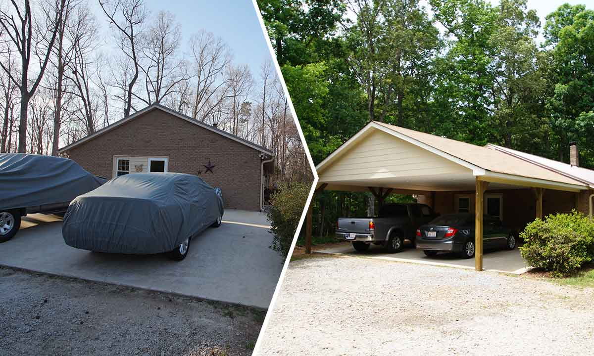 Carport Addition  Creating a Usable Space for Vehicles and Life