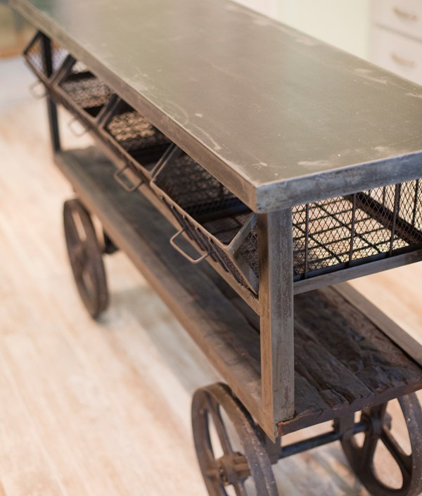 Generations beach house kitchen trolly