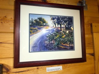 Ken Harris Artist of the Week Central California Late Afternoon