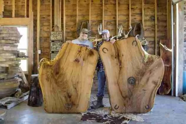 Live Edge Table Tops