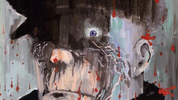 eddie campbell's bacchus on the cover of deadface immortality isn't forever trade paperback