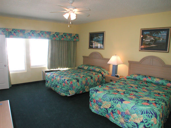 Beachside motel on the Gulf of Mexico  Palmetto Inn and
