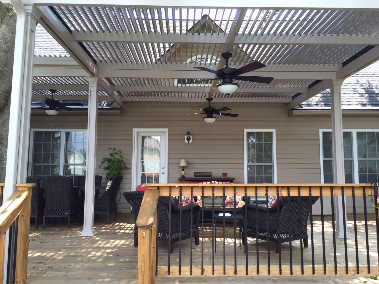 Beautiful American Louvered Roof In Boiling Springs Sc
