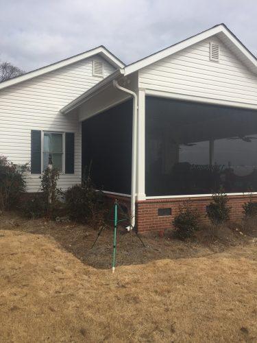 Retractable Motorized Screens for Porch in Anderson SC