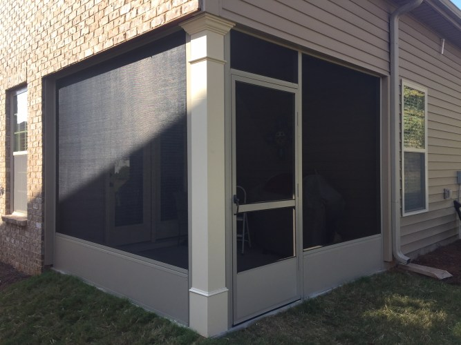 Kick-plate Screen Room with Super Screen Mesh - Anderson SC