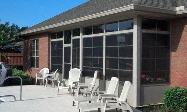 Clear Vinyl Porch Enclosure Panels