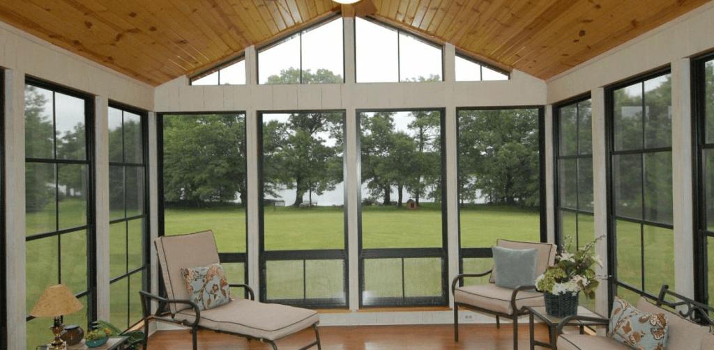 Eze Breeze Bronze Vinyl Windows Palmetto Outdoor Spaces Llc