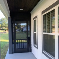 Greenville SC PCA 8 foot tall screen door Westmore model