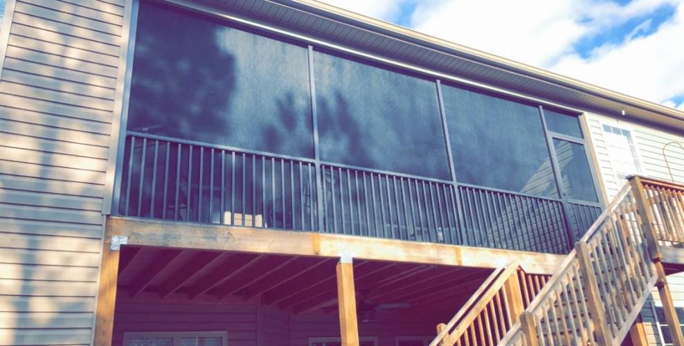 Screened Porch Bronze Framing PCA Westmore ScreenDoor Anderson SC
