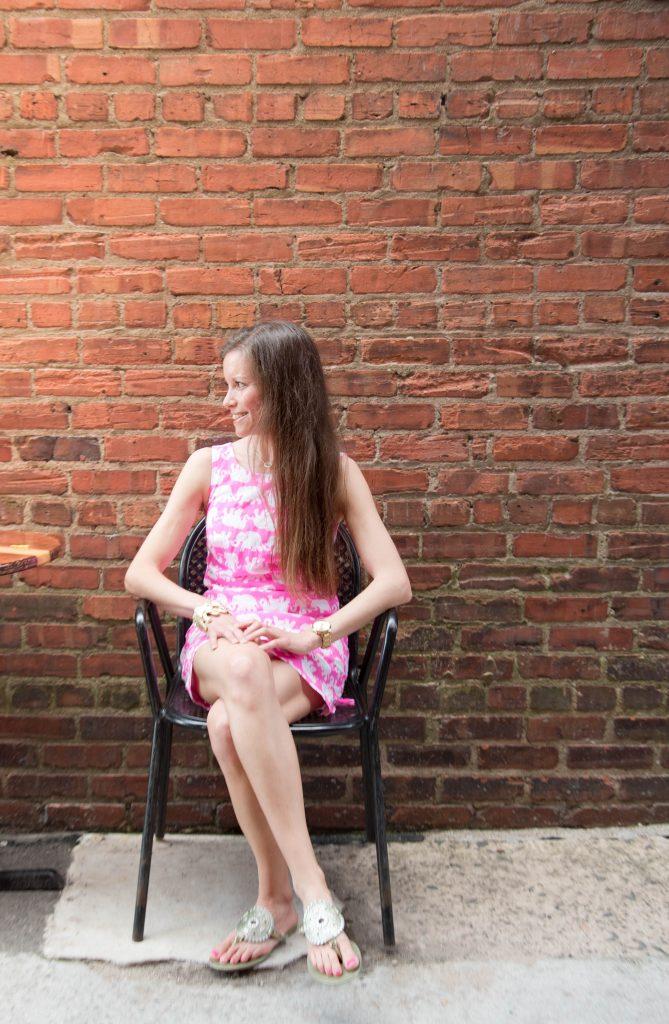Lilly Pulitzer Delia Shift Tusk In Sun