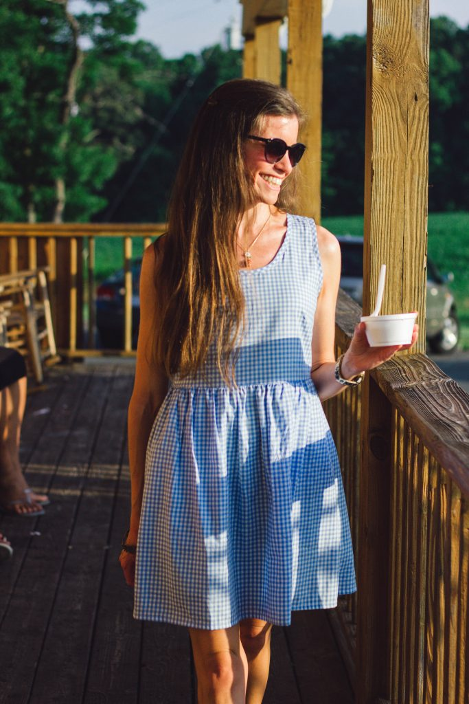 Lauren James Gingham Dress