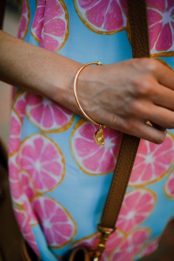Lilly Pulitzer Orange Slice Bangle