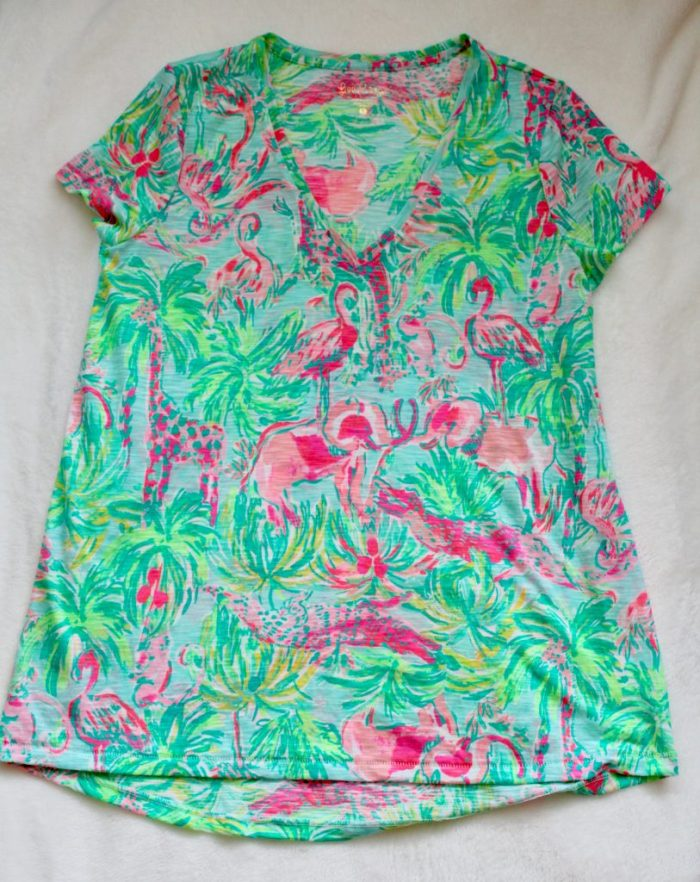Lilly Pulitzer Etta Top On Parade