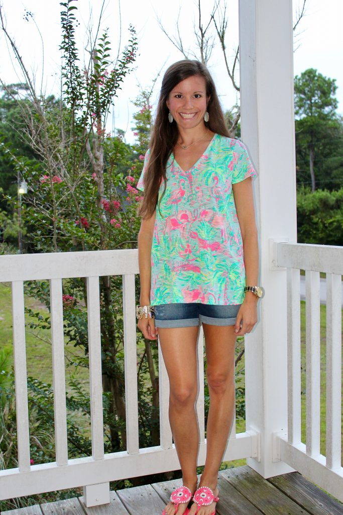 Lilly Pulitzer On Parade Etta Top