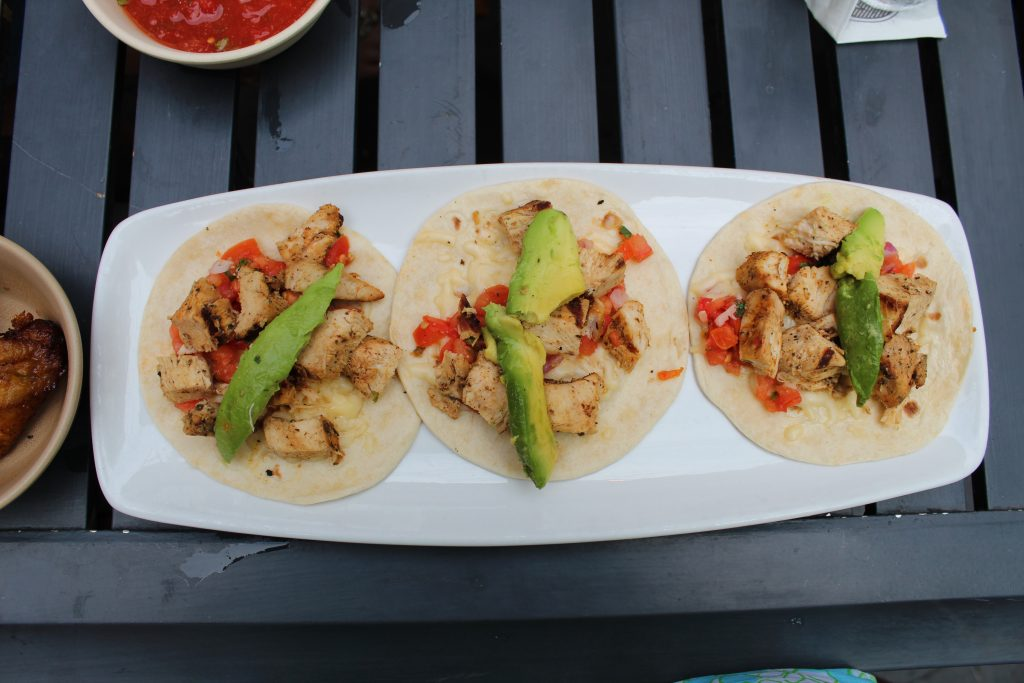 Gonza Grilled Chicken Tacos