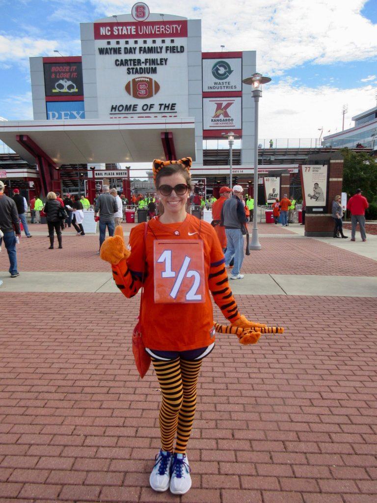 Clemson Tiger Cub Halloween Costume