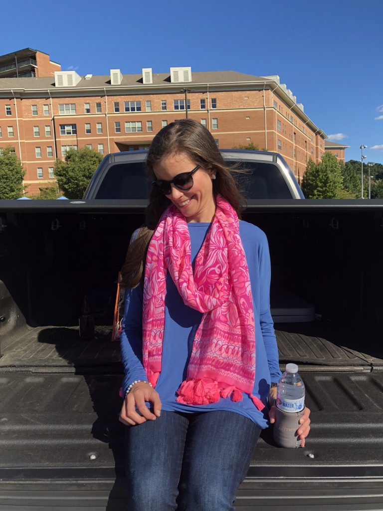 Lilly Pulitzer Pawsitive Cattitude Scarf