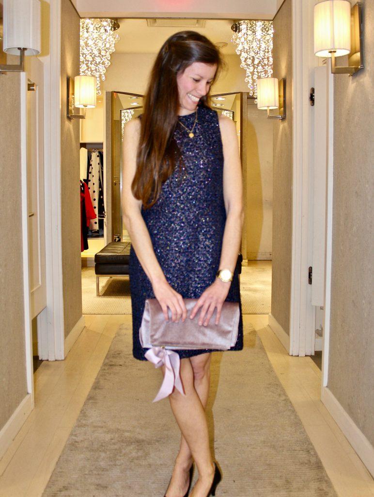 Ann Taylor Tweed Sheath Dress