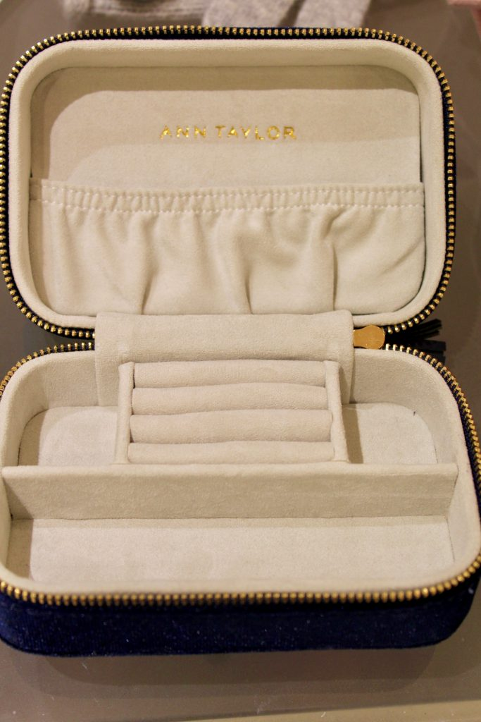 Ann Taylor Jewelry Case