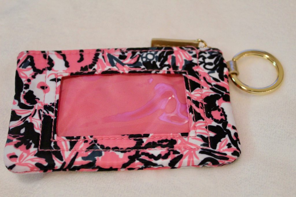 Lilly Pulitzer Hanging with My Boo ID card Holder