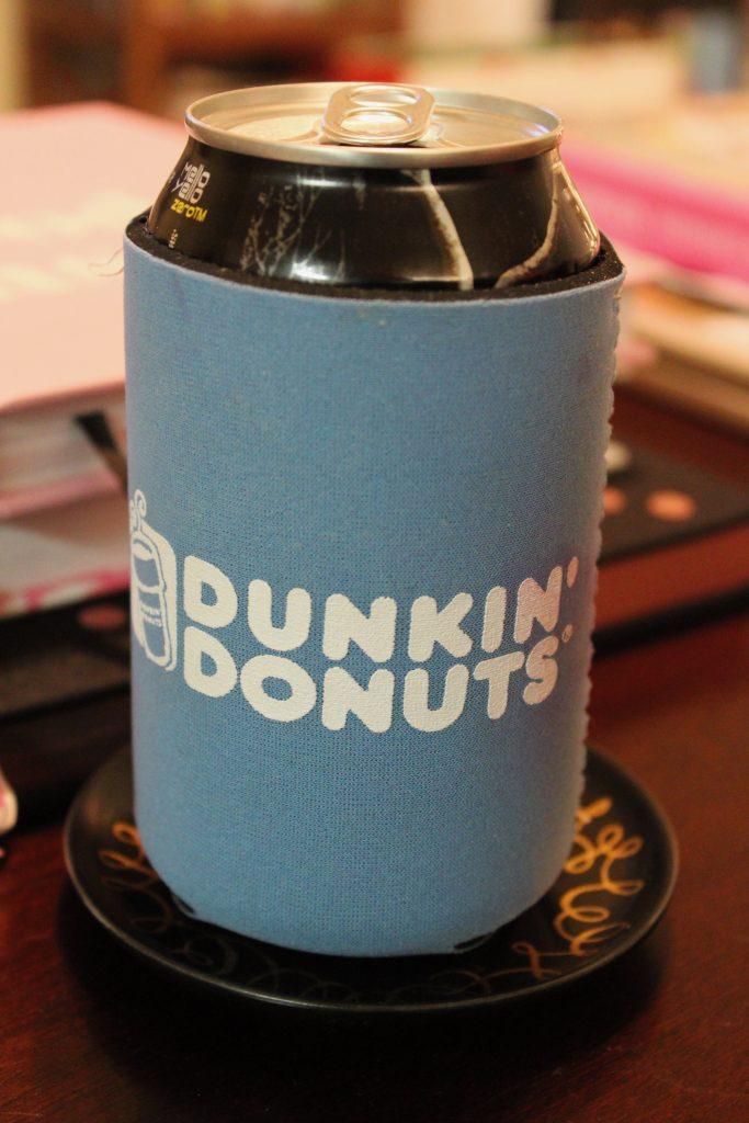 Dunkin Donuts UNC Koozie