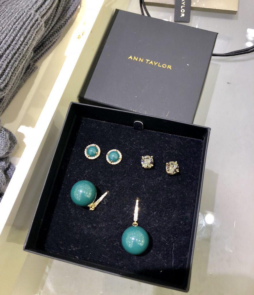 Ann Taylor Earring Gift Box