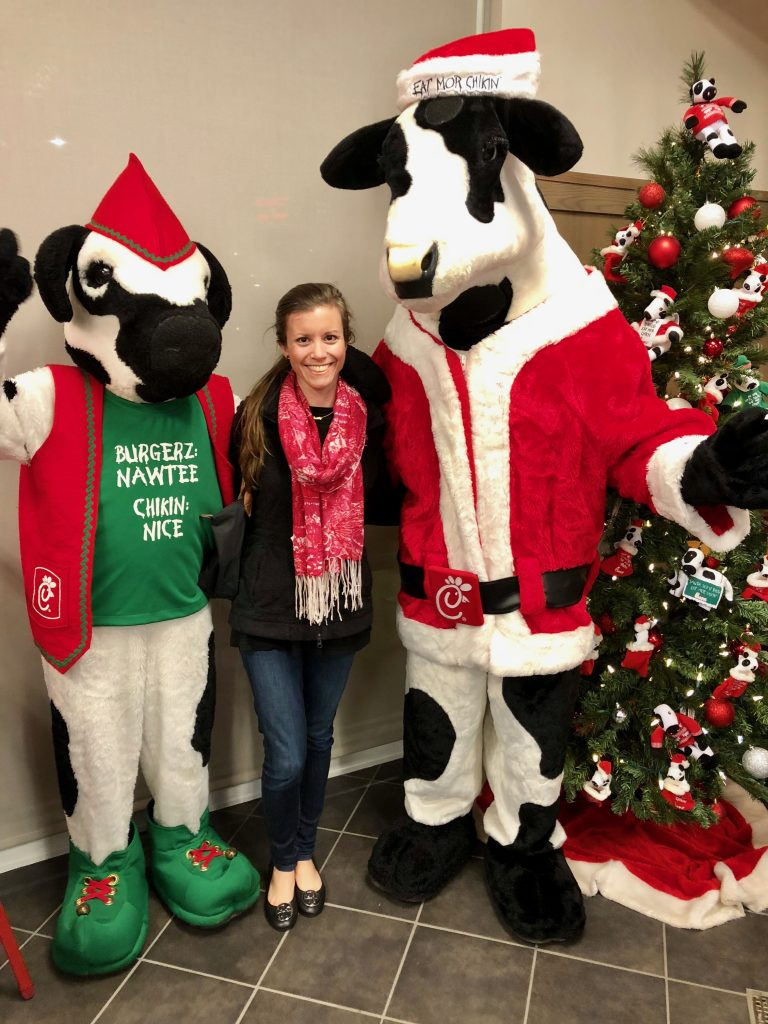 Santa Cow at Chick-fil-a