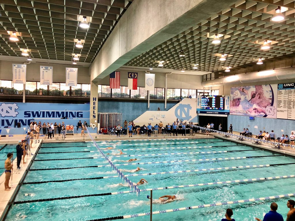 UNC Swim Meet
