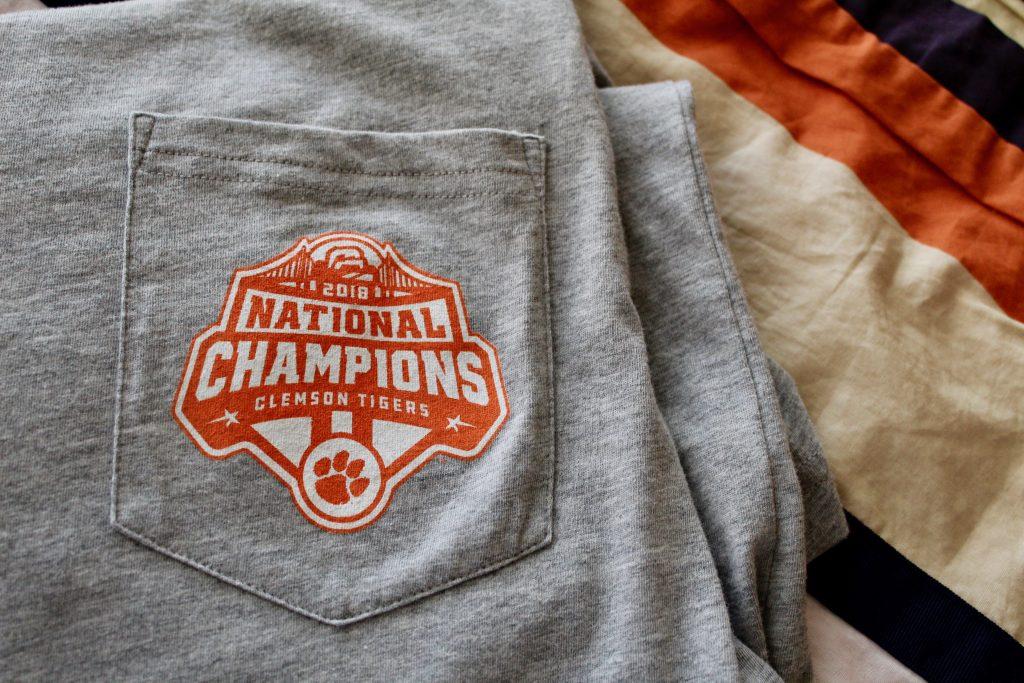 Lauren James Clemson 2018 National Champions