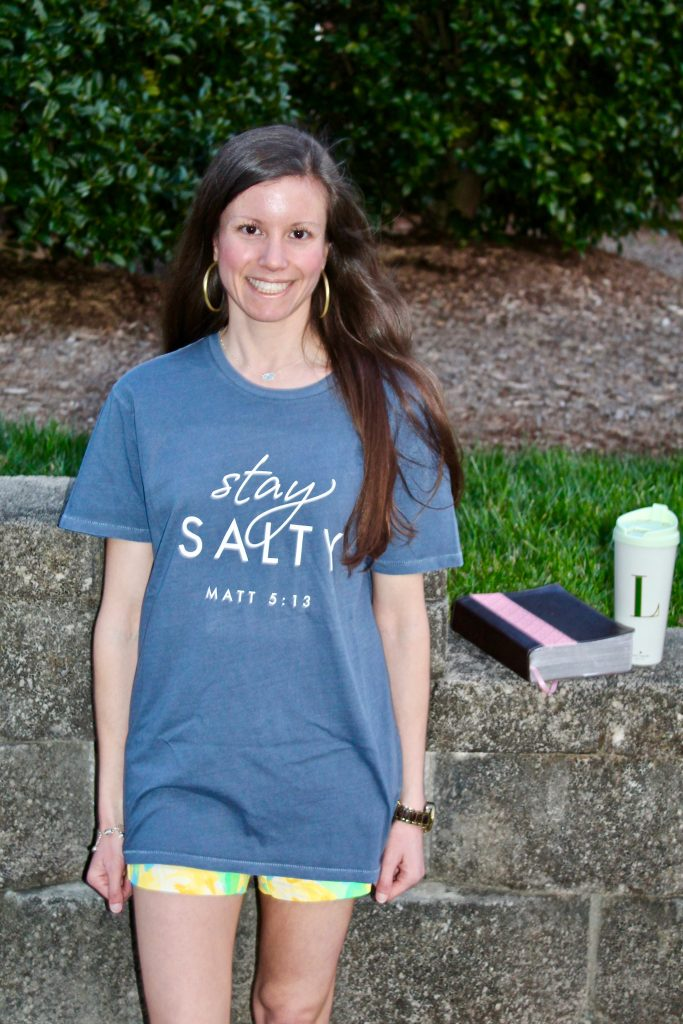 Candace Cameron Bure Stay Salty Shirt DaySpring