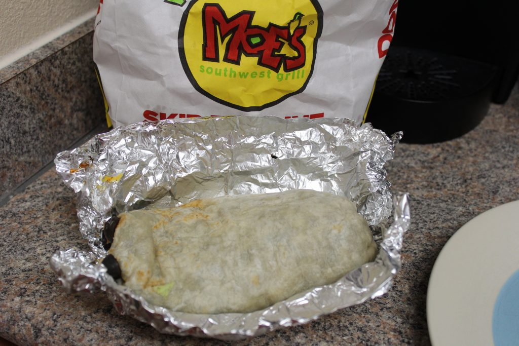 Moe's Birthday Burrito