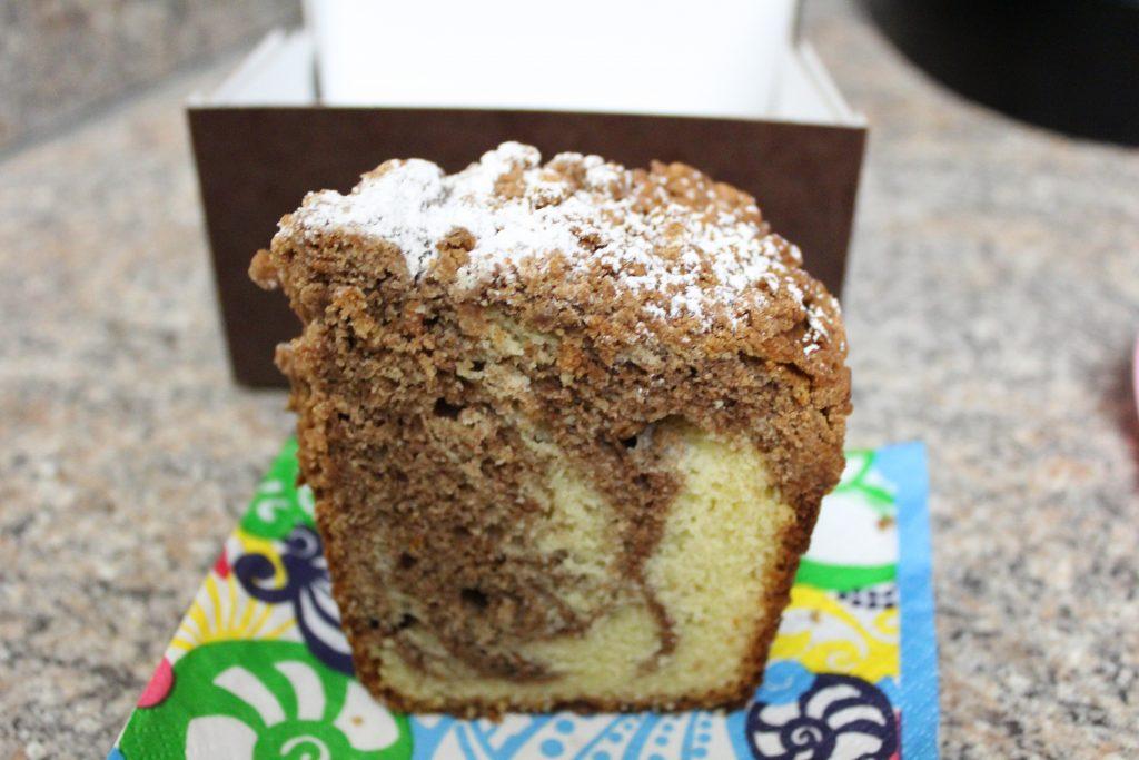 Panera Birthday Pastry
