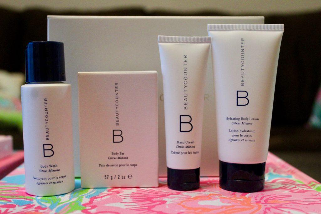 Beautycounter Citrus Mimosa Body Products