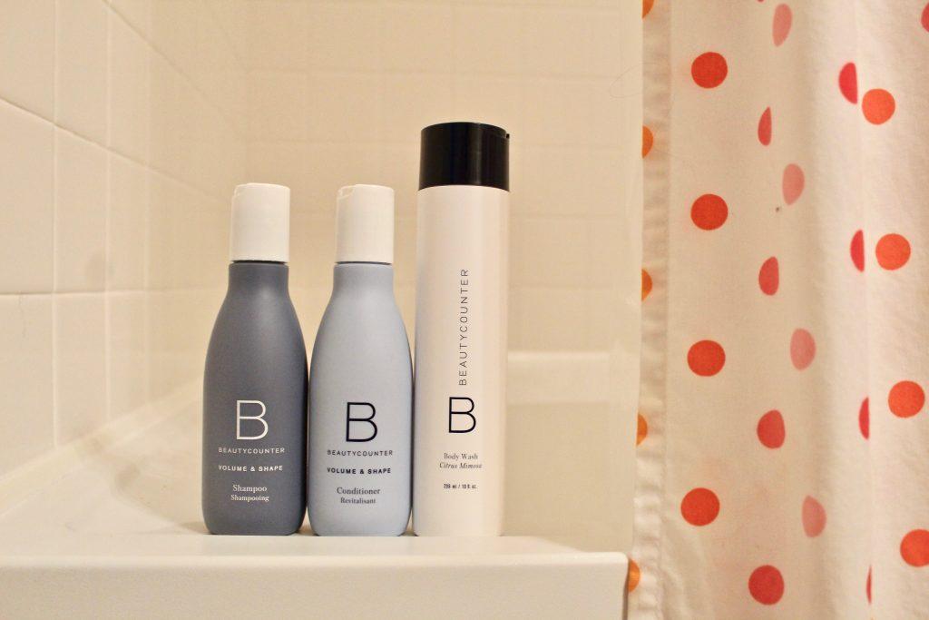 Beautycounter shampoo and conditioner