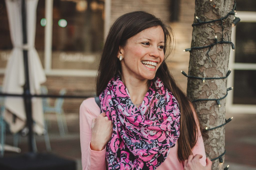 Hangin with My Boo Lilly Pulitzer Scarf