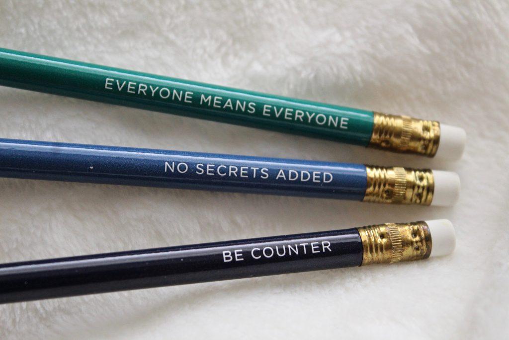 Beautycounter pencils