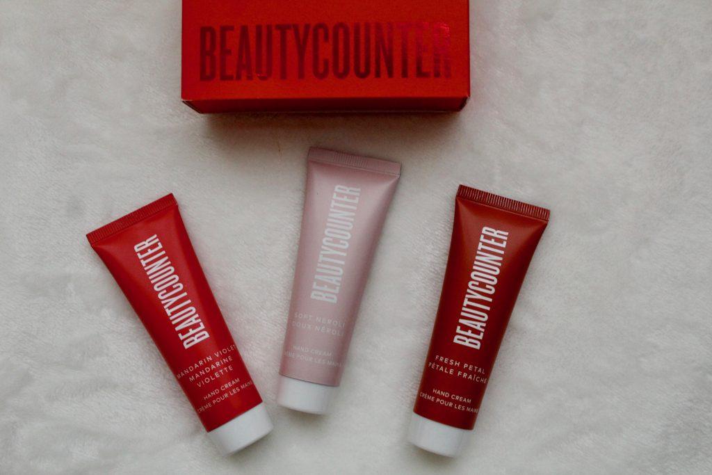 Beautycounter Holiday 2019 Holiday Hand Cream Trio