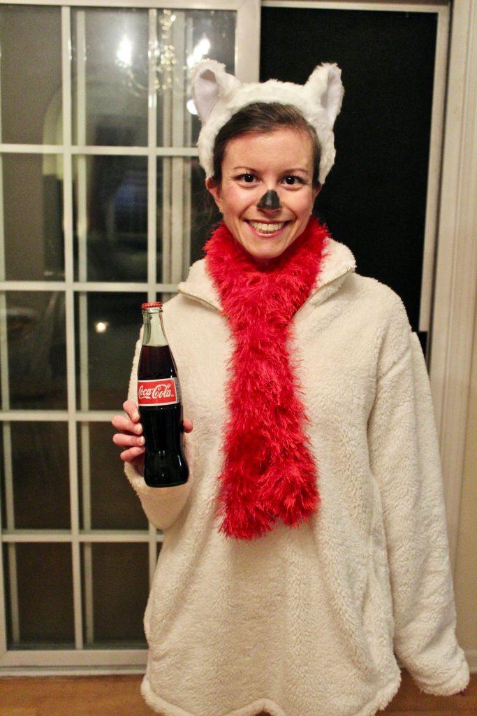 Halloween Costume Coca-Cola Polar Bear
