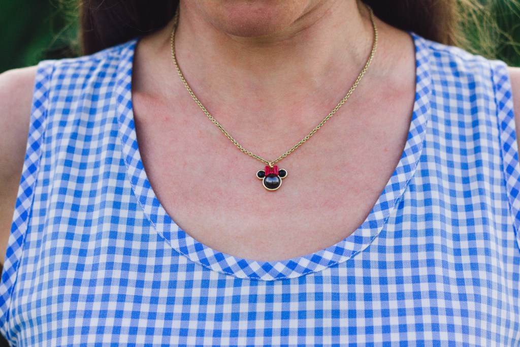 Kate Spade Minnie Mouse Necklace
