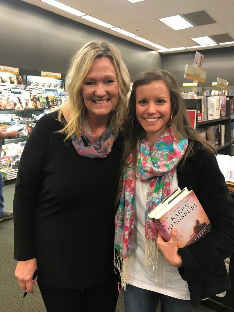 Karen Kingsbury Book Signing