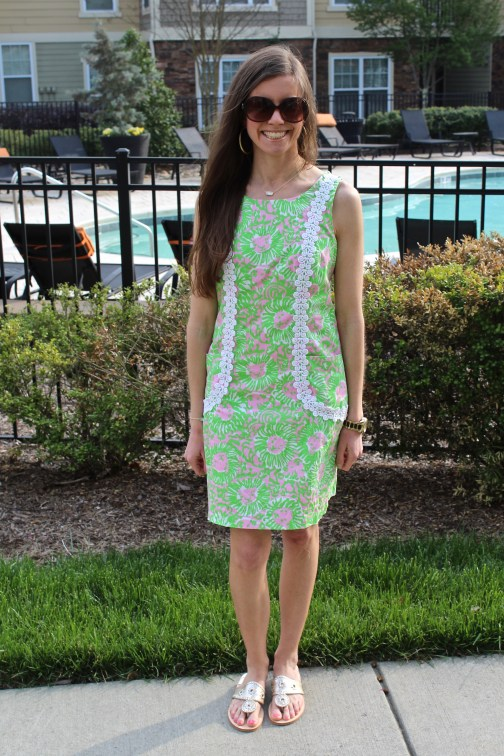 Printed Lilly Pulitzer Shift Dress