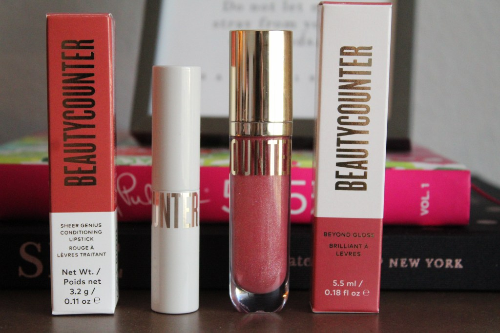 Beautycounter Ethically Sourced Vanilla Lip Products