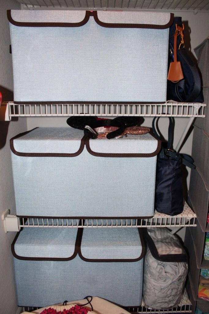 Amazon Linen Storage Cube Closet Organizer