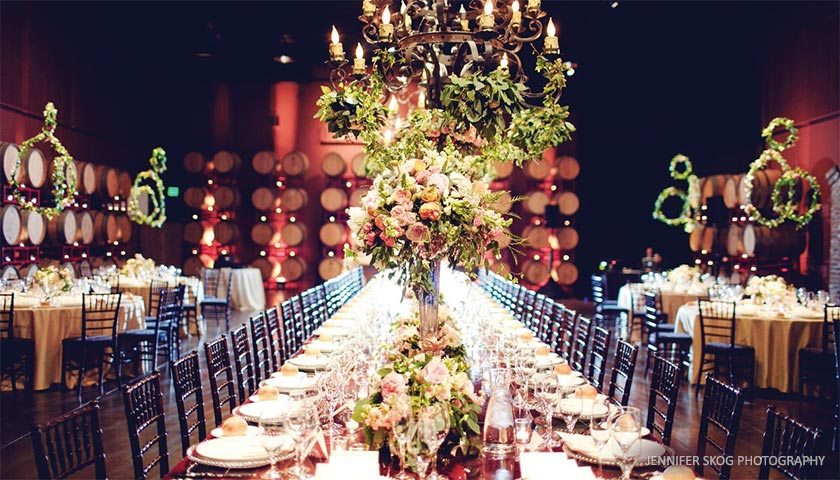 Palm Event Center In the Vineyard  A Luxurious Winery Estate Perfect for Any Event