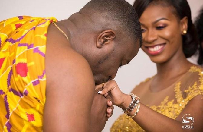 John Dumelo & Gift Mawunya Ghanaian Wedding