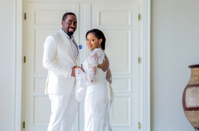 Xerona Duke and DJ Caise Wedding
