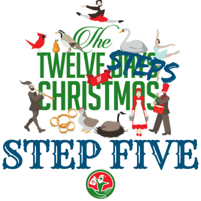 The 12 Steps of Christmas in Recovery: Step 5