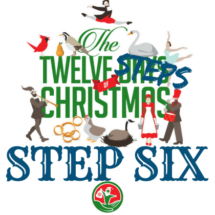 The 12 Steps of Christmas in Recovery: Step 6