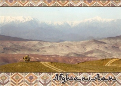 Unsigned thank you from Afghanistan